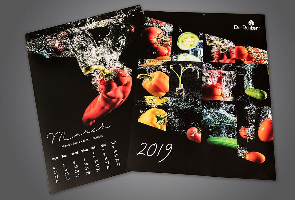 De Ruiter Seeds kalender 2019